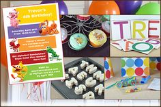 A How to Word World themed birthday party, with Food, Decorations, Games, and Goodie Bag ideas.