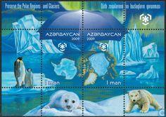 Postage Stamps - Azerbaijan [AZE] - Save the Pool