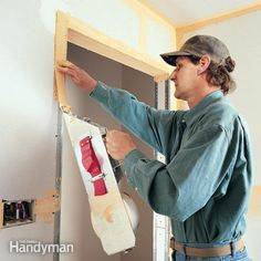 How to Tape Drywall: A color-coded guide to flat, smooth, perfect walls. Read more: http://www.familyhandyman.com/drywall/taping/how-to-tape-drywall/view-all