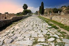 Carthage - Ancient Roman paved