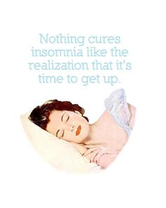 "Quirky Quotes by VintageJennie at Etsy.com | ""Insomnia"""