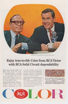 Jack Benny & Johnny Carson for RCA Color Television