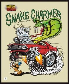 Anyone into Hot Rod Art? Cartoon Car Drawing, Cartoon Rat, Weird Cars, Cool Cars, Ed Roth Art, Cool Car Drawings, Rockabilly Art, Monster Car, Rat Fink