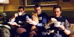 yes. My three favorite things. Tea, Cats, and Castle.