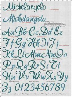 Cross Stitch Letter Patterns, Monogram Cross Stitch, Beaded Cross Stitch, Cross Stitch Borders, Cross Stitch Baby, Cross Stitch Samplers, Modern Cross Stitch, Cross Stitch Charts, Cross Stitch Designs