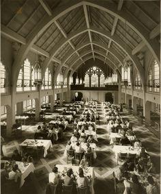 Letitia Pate Evans Dining Hall (interior, ca. 1950) , Agnes Scott College
