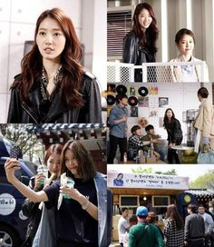 "Park Shin Hye Stops By the Set of ""Ddanddara"" with Some Snacks 