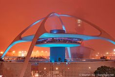 Theme building, Los Angeles International Airport (LAX), California