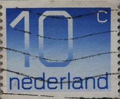 Nederland Vintage poststamp
