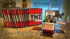 minecraft birthday invitations | Minecraft 3D Box Birthday Party Invitations (click to enlarge)