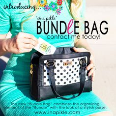 Introducing .... Our In a Pikle bags http://parties.inapikle.com/donnavanier