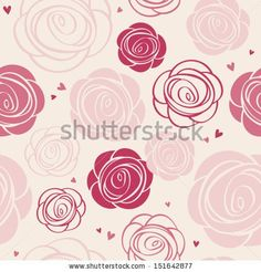 Find 장미 stock images in HD and millions of other royalty-free stock photos, illustrations and vectors in the Shutterstock collection. Vintage Flowers Wallpaper, Love Wallpaper, Painting Patterns, Fabric Painting, Wallpaper Powerpoint, Rose Vintage, Paper Background, Watercolor Flowers, Royalty Free Images