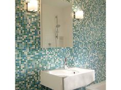 Brio Blend Fresh glass mosaic tile by Modwalls.com. Buy online. Samples available. Discounts to the trade.