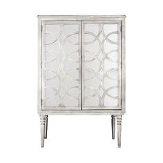 Vitrina en  madera con 2  puertas color  plata Vitrinas De Cristal 77d9c8872f90