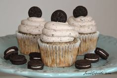 Death By Oreo Cupcakes by JavaCupcake. Thank you for making this cupcake!!! Great to knock the socks off your friends and co-workers.