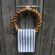 Luxury Nautical Rope towel Bar