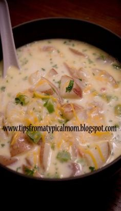 Potato Soup Recipe - The best you'll ever make! Tips from a Typical Mom