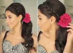 Pretty Prom-Ready Hair - http://youtu.be/-21T4O_Tm_4