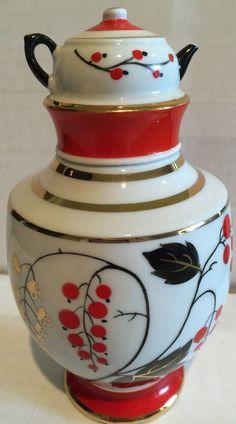 Lomonosov Imperial Porcelain 6 Tea Caddy W/Teapot Tea Cup Top, 1970 s Baby Flower Headbands, Christmas Hair, Tea Caddy, Feather Headband, Headband Hairstyles, Deco, Teapot, Tea Cups, Bb