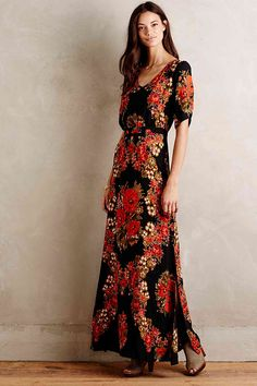 Favorite Maxi Dress (this floral wreath maxi dress I designed for Paper Crown)