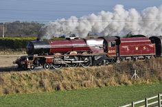 Princess Elizabeth 46201, Steam Engine 1933. London, Midland, & Scottish Railways.