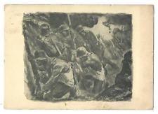 German Empire WW II, Wehrmacht picture postcard,slogan banner cancel 1940