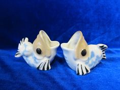 VINTAGE Porcelain Figurine Soviet ceramik fish ussr