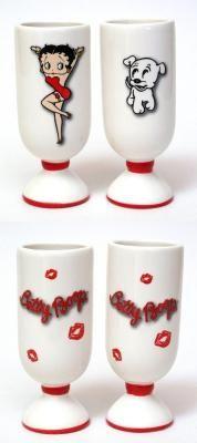 Betty Boop and Pudgy Mug Set!
