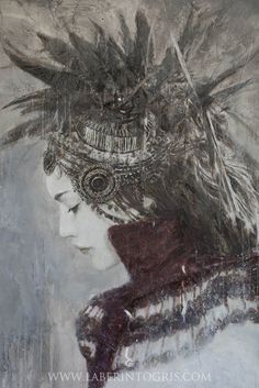 GODDESSES OF NIBIRU II by Romulo Royo - http://www.laberintogris.com/en/7-limited-editions