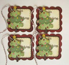 Christmas gift tags                                                                                                                                                                                 Más