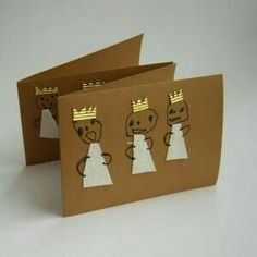 cute xmas card/décor idea that kids can make Kids Crafts, Christmas Crafts For Kids To Make, Christmas Activities For Kids, Preschool Christmas, Pop Up Karten, Karten Diy, Christmas Mood, Christmas Holidays, Theme Noel