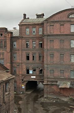 Deserted Places: An abandoned industrial complex in St. Petersburg