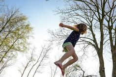 Childhood Diet and Exercise Creates Healthier, Less Anxious Adults - Neuroscience News Trampolines, Physical Development In Children, Leptin Levels, Exercise Physiology, Trampoline Park, Anxiety In Children, People Running, Summer Activities For Kids, Happy Marriage