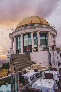 Bangkok | Unser Aufenthalt im lebua at State Tower Hotels In Bangkok, Sky Bar, Open Air, Labuan, Das Hotel, Tower, Clouds, Travel, Voyage