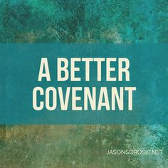 This is the beautiful mercy of the new covenant and the aspect of Christianity that distinguishes it from every other religion: we are saved not by works, but by faith. Why Covenant matters.