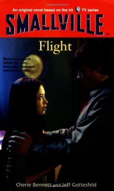 Flight (Smallville Series for Young Adults, No. 3) by Cherie Bennett http://www.amazon.com/dp/0316174688/ref=cm_sw_r_pi_dp_7h.qub14KBAVY