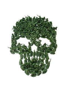 Army Men Skull, Noah Scalin
