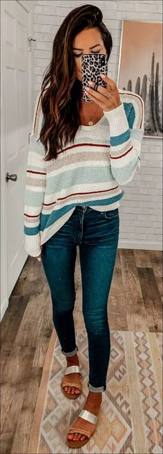 Genius Summer Outfits To Copy ASAP « letterformat. Beauty And Fashion, Passion For Fashion, Love Fashion, Womens Fashion, Fall Winter Outfits, Autumn Winter Fashion, Spring Outfits, Mode Outfits, Casual Outfits