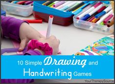 10 Simple Drawing and Handwriting Games - Your Therapy Source