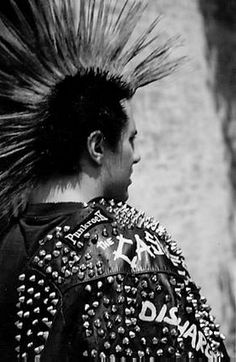 Punk Mohawk, Punk Subculture, Victorian Goth, Gothic, Biker Leather, Leather Jackets, Romantic Goth, Punks Not Dead, Punk Goth