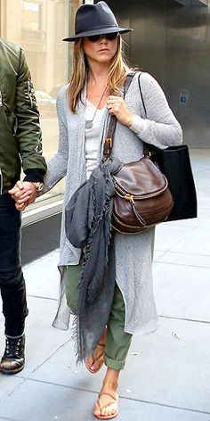 CALF-LENGTH SWEATERS photo | Jennifer Aniston
