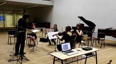 Concert of GEAM in Esnaola Auditorium.   Composer: Matías Couriel