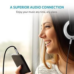 Amazon.com: Anker 3.5mm Premium Auxiliary Audio Cable (4ft / 1.2m) AUX Cable for Headphones, iPods, iPhones, iPads, Home / Car Stereos and More (Black): Home Audio & Theater $4.99 https://www.amazon.com/gp/product/B00R124LAK/ref=as_li_qf_sp_asin_il_tl?ie=UTF8&tag=goldelifes-20&camp=1789&creative=9325&linkCode=as2&creativeASIN=B00R124LAK&linkId=0b2aa037100baf878fc345dc94c1766f