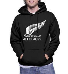 New Zealand All Blacks National Rugby Union Team Hoodie Sweatshirts - Hottess