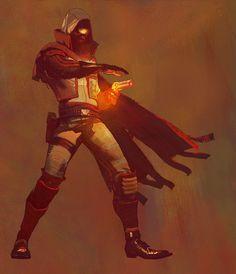 Hunter Gunslinger from Destiny 2