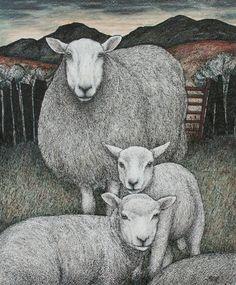 Seren Bell Summer Lambs