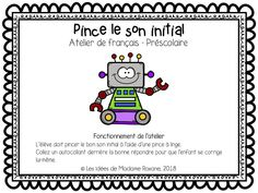 Alphabet, France, Word Games, Grade 1, Phonics, Teacher Resources, Literacy, Initials