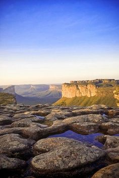 Heart-shaped rock in Chapada Diamantina National Park, Bahia, Brazil