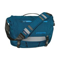 """The Patagonia Half Mass 15L messenger bag is built for bike commuters and perfectly sized for a day's worth of gear. Holds most 15"""" laptops."""