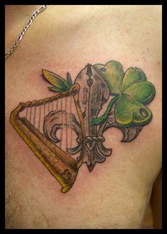 tattoo harp
